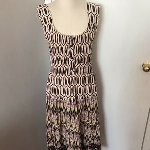 New Gathered Bodice Maxi Dress Size Large